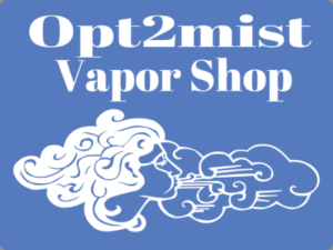 Opt2Mist Vapor Shop Logo