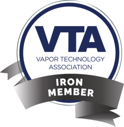 Vapor Technology Assocaition Iron Membership Badge
