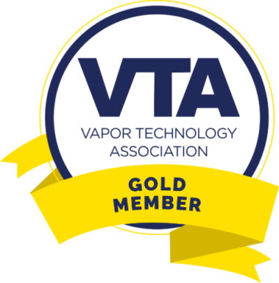 Gold Member Badge Vaportechnology Association